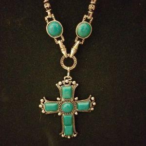 Jewelry - Turquoise Cross